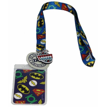 Lanyard - DC Comics - Justice League Logo New Gifts Toys lan-dc-0006 - Themed Lanyards
