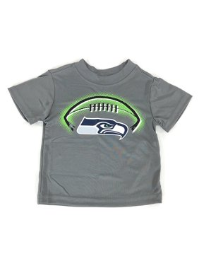 Product Image Gerbers Childrenswear Grey Infant Toddler Seattle Seahawks Poly  T-Shirt (18 Month). Gerber 6e0fb6766