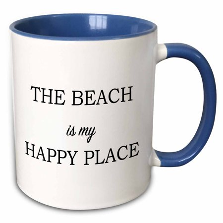 Happy Halloween Please Take Two (3dRose THE BEACH IS MY HAPPY PLACE - Two Tone Blue Mug,)