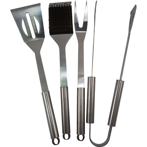 Stainless Steel BBQ Set (Set of 4)