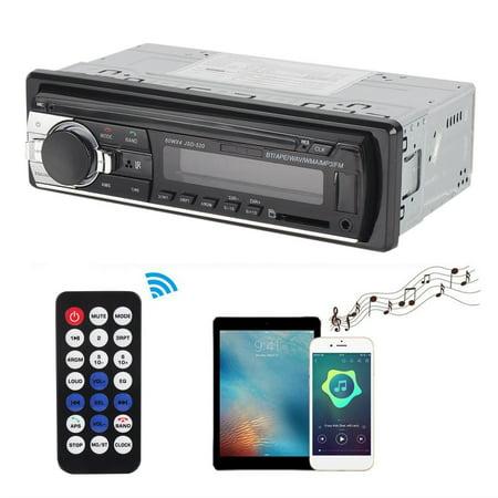 HC-TOP JSD-520 Car Radio Music Player Phone MP3 Remote Control 12V Car - image 2 of 6