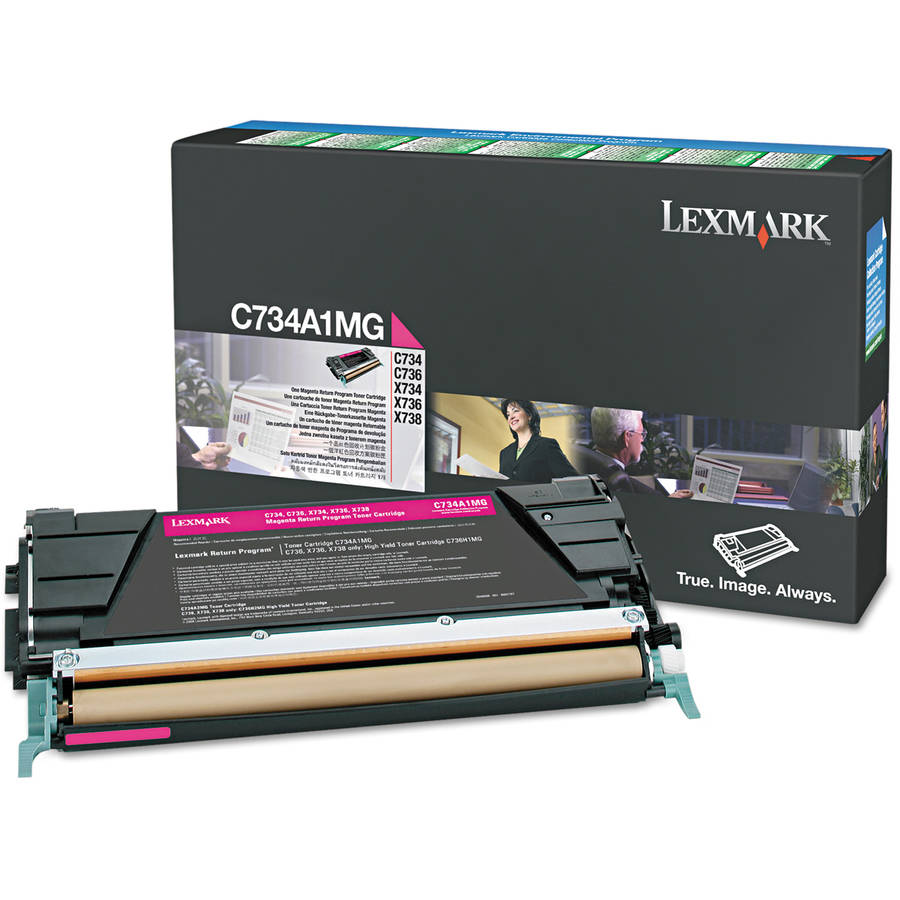 Lexmark C746A1MG Magenta Toner Cartridge