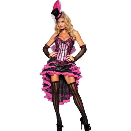 Zombie Burlesque Halloween (Burlesque Beauty Adult Halloween Costume)