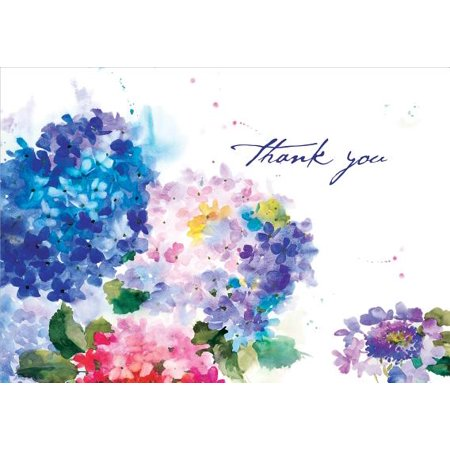 Hydrangeas Thank You Notes (Stationery, Note Cards, Boxed (Note Stationery Cream)