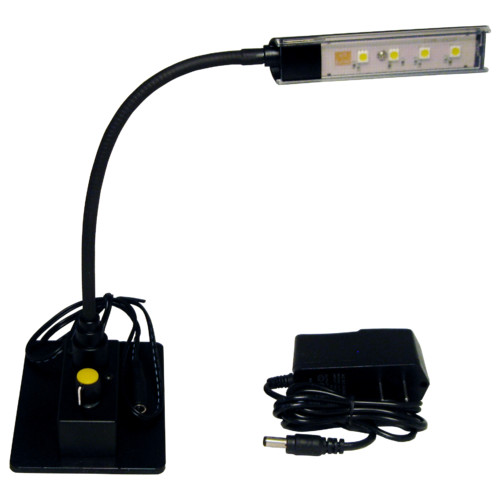 Audio Systems Group LED Gooseneck 12'' Desk Lamp
