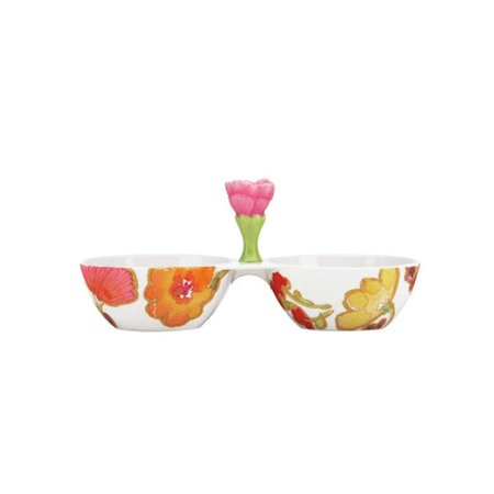 Lenox Tableware 821992 Floral Fusion Condiment Server