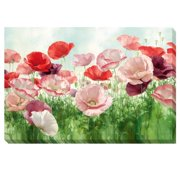 Artistic Home Gallery 'Poppies Pleasure' by Igor Levashov Painting Print on Wrapped Canvas