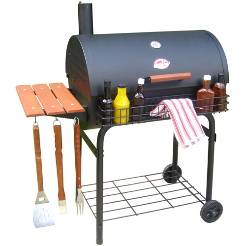 "Char-Griller Deluxe 29"" Charcoal Griller"