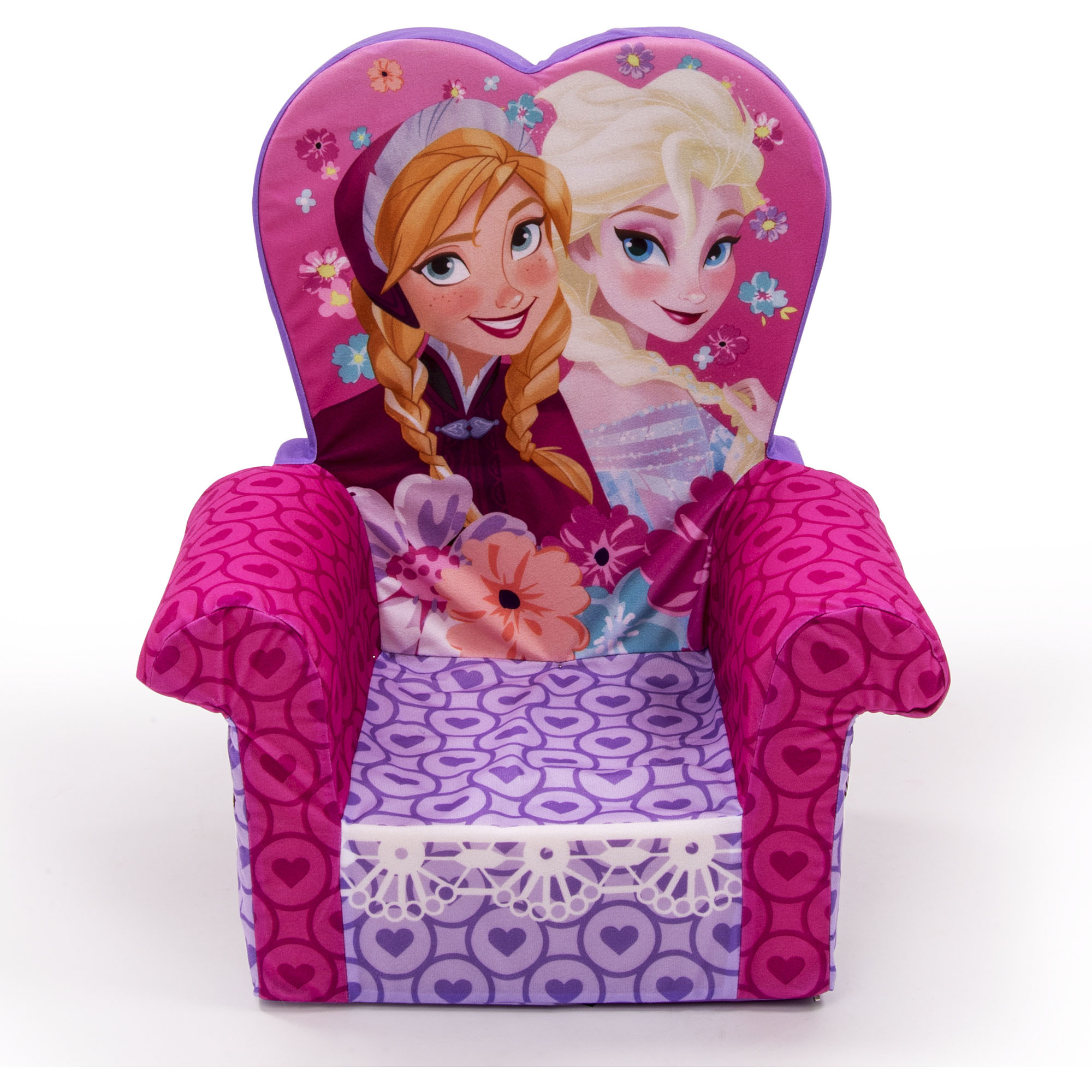 Marshmallow Furniture High Back Chair, Disney Frozen