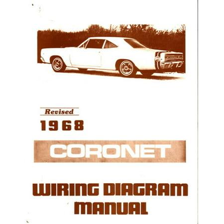 Bishko OEM Repair Maintenance Wiring Schematics Bound for Dodge Coronet 1968