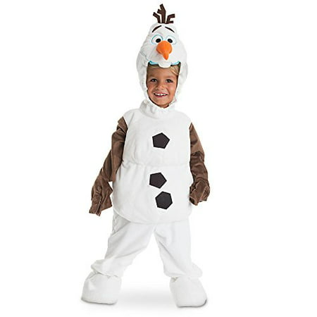 Disney Store Deluxe Frozen Olaf Plush Halloween Costume for Kids All Sizes (XS 4 or 4T) (Olaf Costumes For Kids)