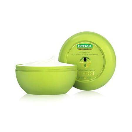 Bebak Olive Oil Hand and Body Cream Jar 200 Gr. (7 Oz) ()