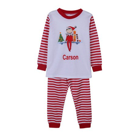EFINNY Asian Size Christmas Family Matching Pajamas Red Stripes Sleepwear Sets for Family Mum Dad Kid - Onsies For Teens