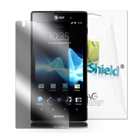 Greatshield Ultra Anti Glare  Matte  Clear Screen Protector Film For Sony Xperia Ion  3 Pack