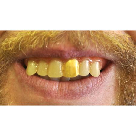 Morris Costumes Mens Teeth Glow Gold Miner](Miner Costume)