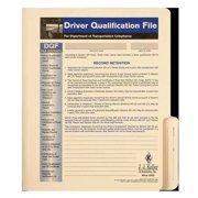 JJ KELLER 848 Driver Qualification File, Instructional