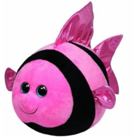Ty Beanie Ballz Gilly Angelfish Plush Multi Colored