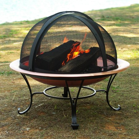 Easy Access Replacement Spark Fire Pit Screen