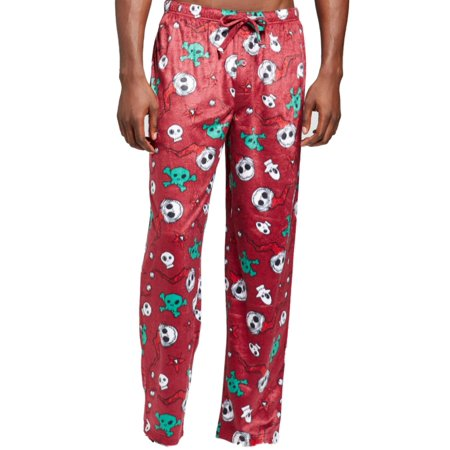 Disney - The Nightmare Before Christmas Mens Maroon Jack Skellington Fleece  Sleep Pants M - Walmart.com 026b1283d
