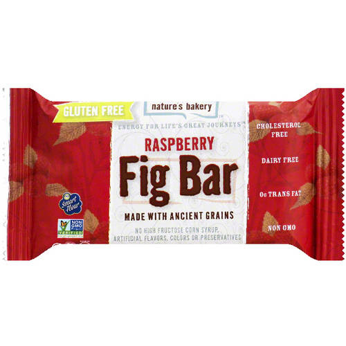 Nature's Bakery Fig Bar, Raspberry, 1g Protein, 12 Ct