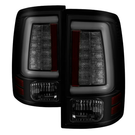 - Spyder 09-16 Dodge Ram 1500 Light Bar LED Tail Lights - Black Smoke ALT-YD-DRAM09V2-LED-BSM