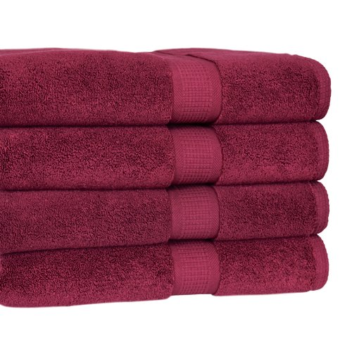 Darby Home Co Bloomberg Terry Cloth Bath Towel (Set of 4)