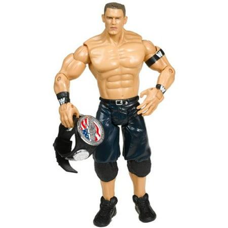 WWE Jakks Ruthless Aggression 14 John Cena W/ US Spinner (John Cena Best Friend In Wwe)