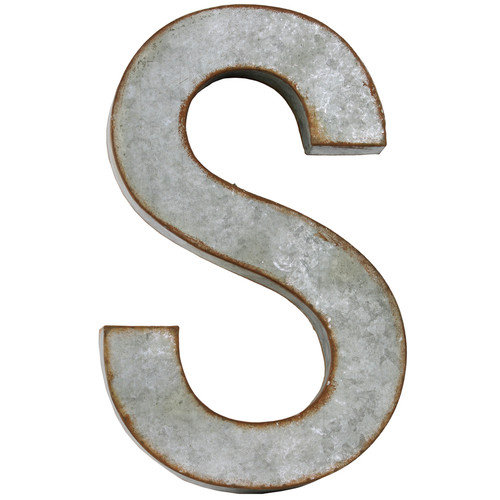 Urban Trends Alphabet Letter ''S'' Wall Decor