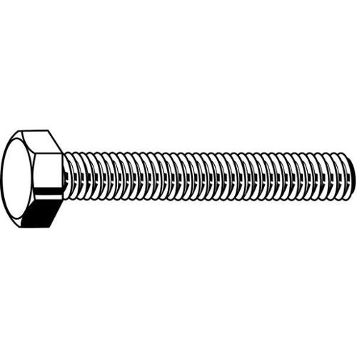 M16-1.50 x 100 mm. Class 10.9 Plain Hex Head Cap Screw, 10 pk., M04160.160.0100