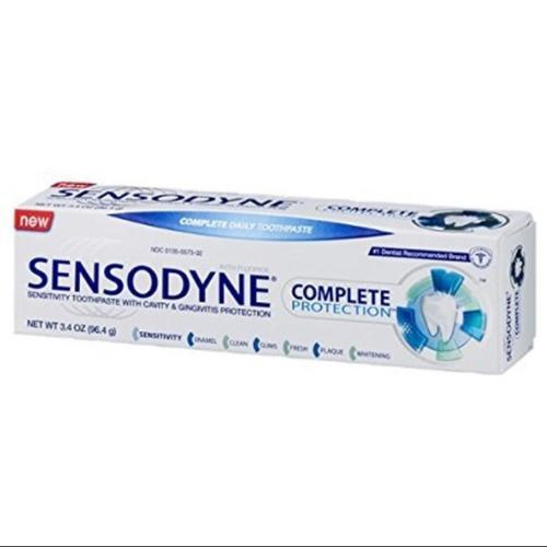 Sensodyne Complete Protection Sensitivity Toothpaste with Cavity & Gingivitis Protection Extra Fresh 3.4 oz (Pack of 2)