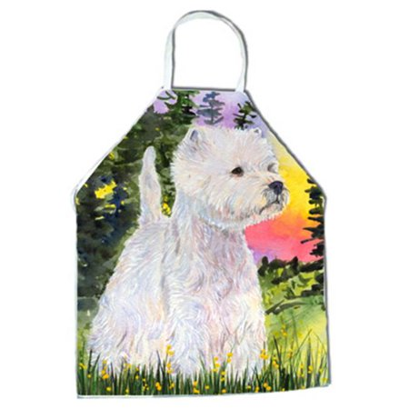 Carolines Treasures SS1067APRON Westie Apron - 27 H x 31 W in. - image 1 of 1