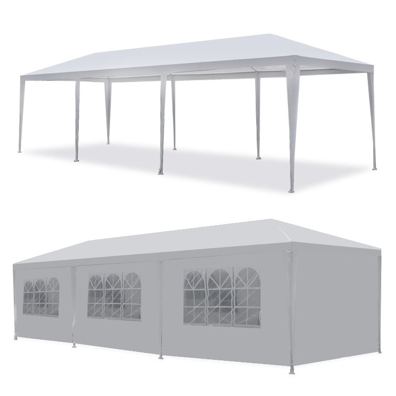 10/'x10/' Four Sides Canopy Waterproof Tent Patio Gazebo Party Wedding Marquee