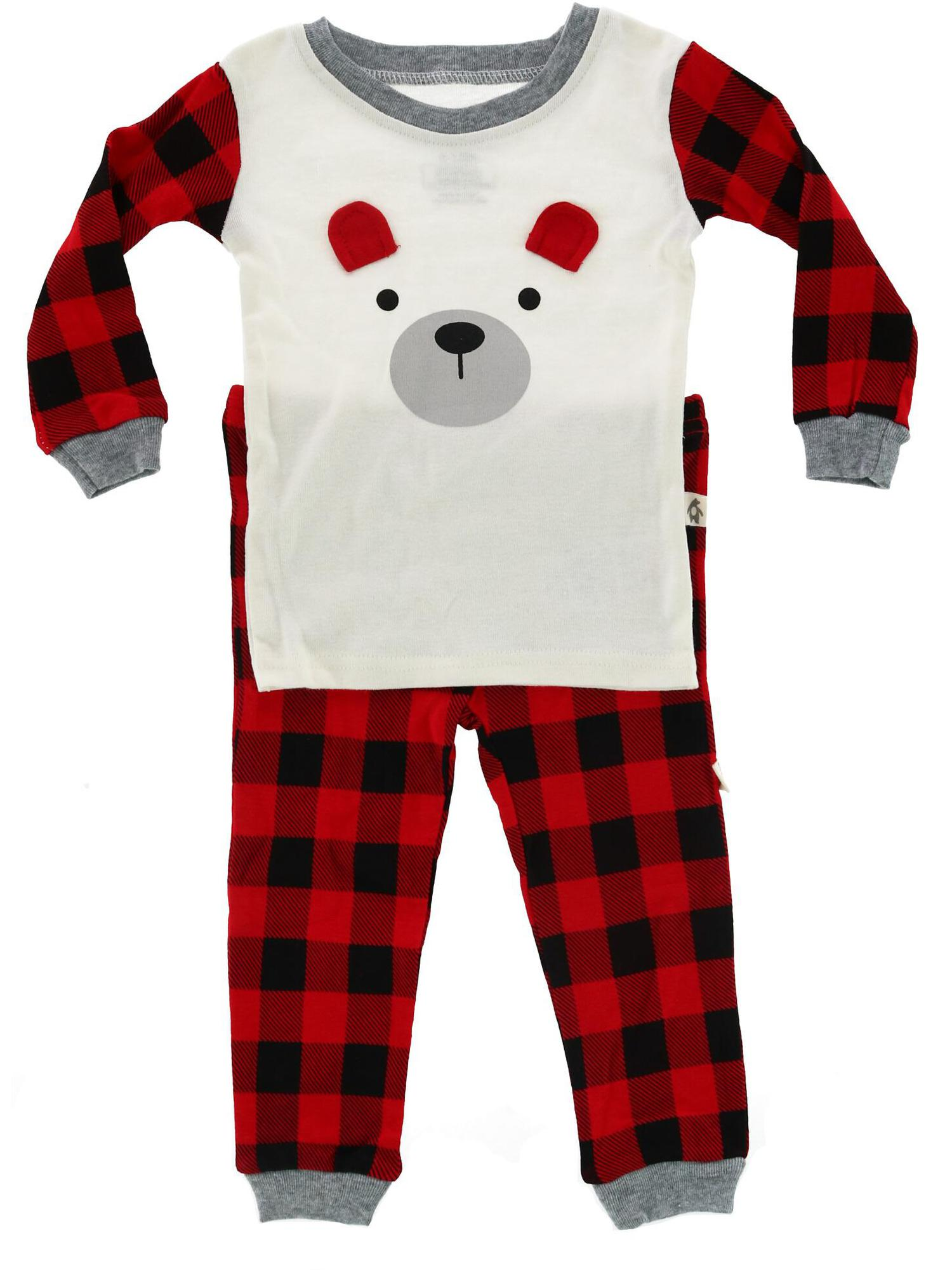 Snugabye - Snugabye Infant Buffalo Plaid 2-Piece Winter ...