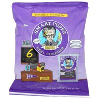 (12 Pack) Pirate Brands Smart Puff - Real Wisconsin Cheddar , 6/1 OZ