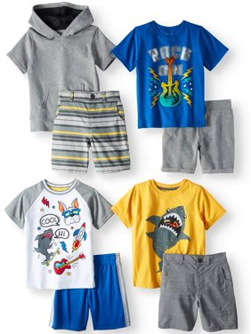 b5c18e218d26 Product Image Garanimals Mix & Match Outfits Kid-Pack Gift Box, 8pc Set (Toddler  Boys