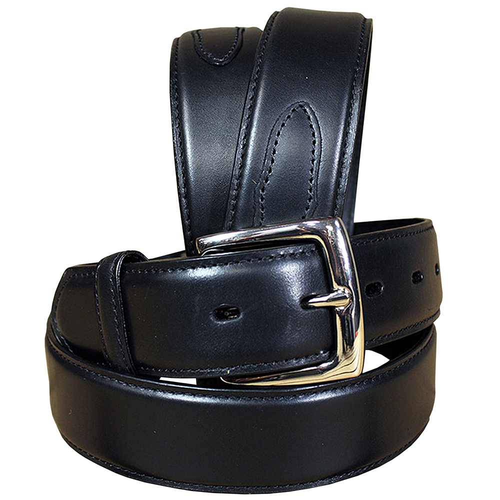 SIZE 30 BLACK NEW MENS WESTERN FORMAL DURABLE PURE LEATHER BELT REMOVABLE BUCKLE