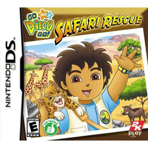 Go Diego Go: Safari Rescue - Nintendo DS