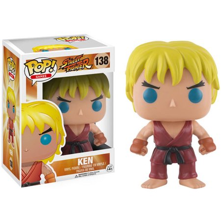 - FUNKO POP! GAMES: STREET FIGHTER - KEN