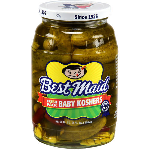 Best Maid Baby Koshers Pickles, 22 fl oz
