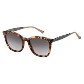 MAX MARA Sunglasses NEEDLE III/S 0USL Beige Havana Ruthenium (Max Mara Round Sunglasses)