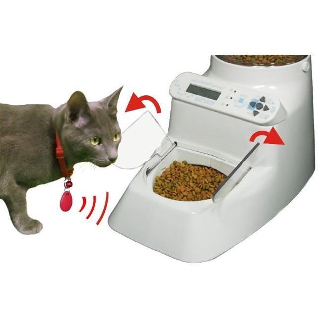 Wireless Whiskers Automatic Pet Feeder - AutoDiet Pet Feeder - Put Your Pet on a Diet