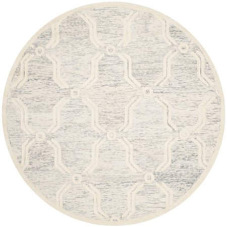 Safavieh Cambridge 6' Round Hand Tufted Wool Rug - image 4 de 10