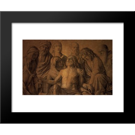 The Lamentation over the Body of Christ 20x24 Framed Art Print by Bellini, Gi...