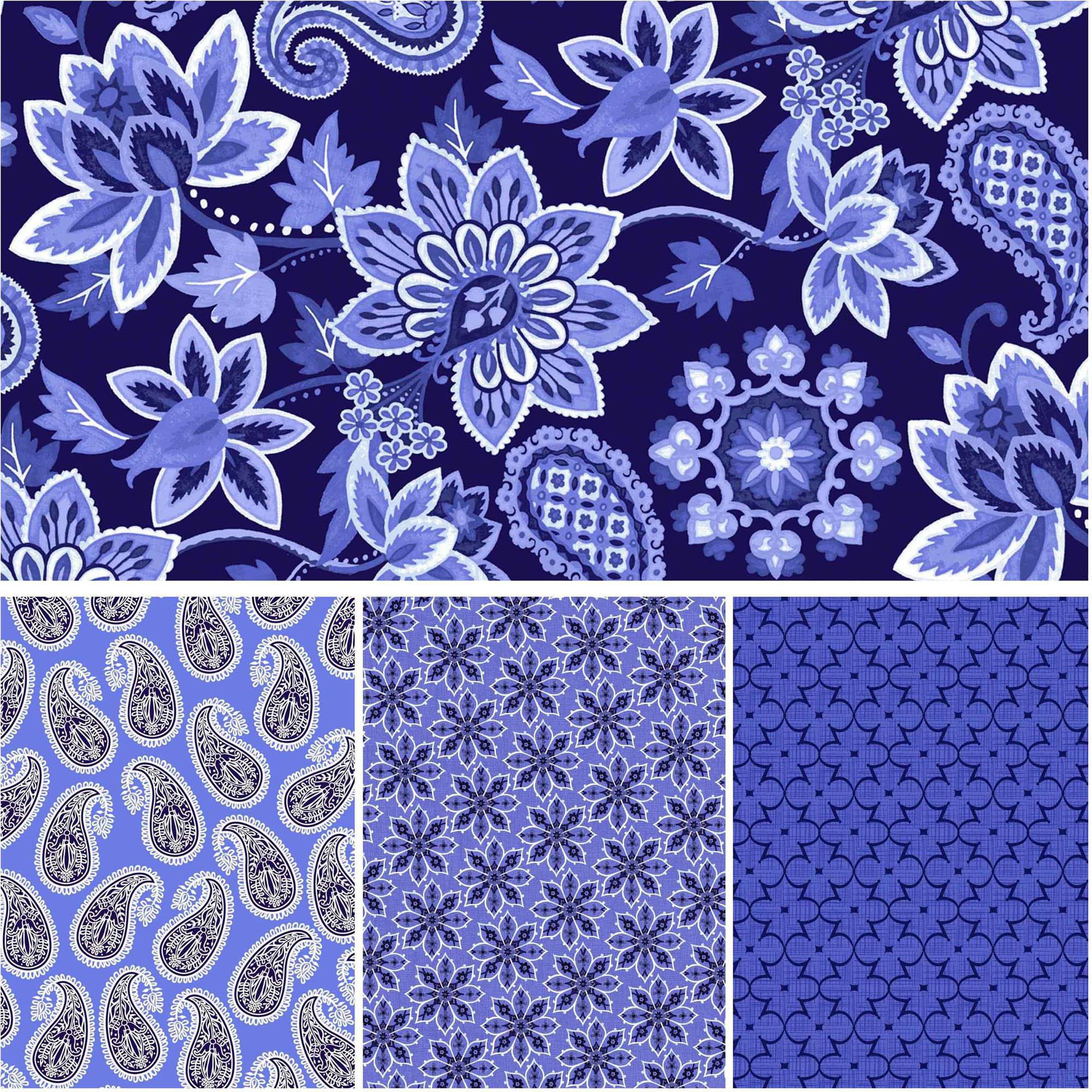 """David Textiles Deco Nature Collection 44"""" Quilting Cotton By The Yard"""