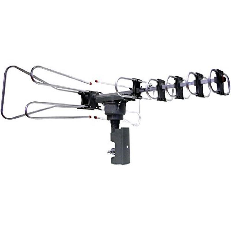 NAXA NAA-350 Amplified Outdoor TV Antenna with Remote Dir...