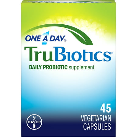 One A Day TruBiotics, Daily Probiotic Supplement for Digestive and Immune Health*, 45-Capsule