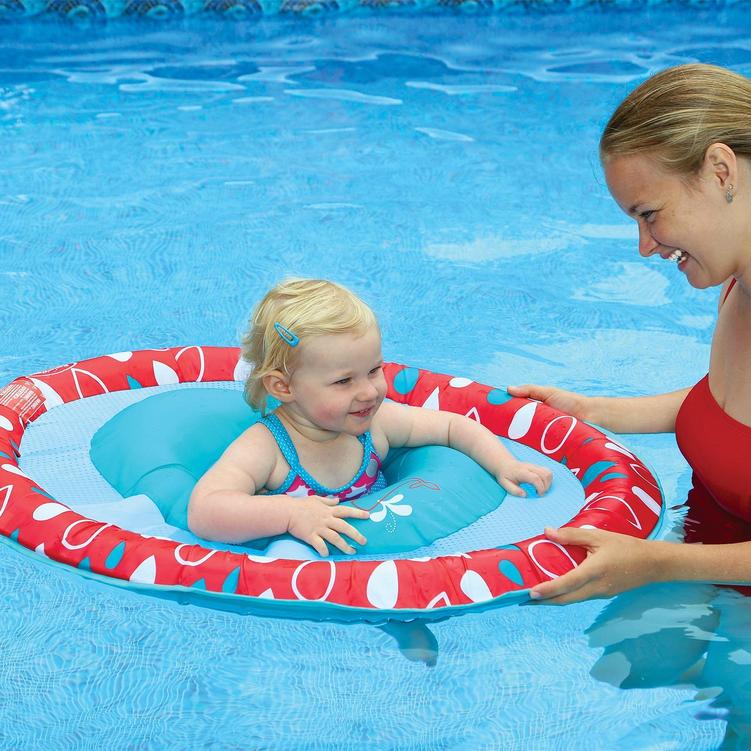 "36"" Blue and Red Swimming Pool Step 1 Baby Spring Float"
