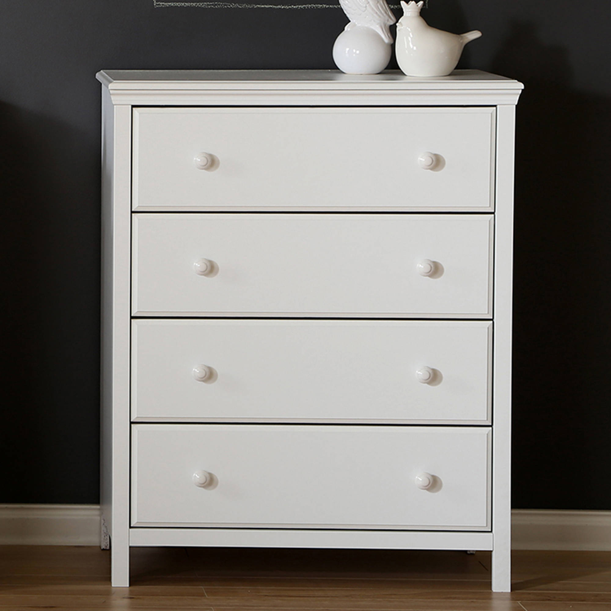 South Shore Cotton Candy 4-Drawer Chest, Multiple Finishes