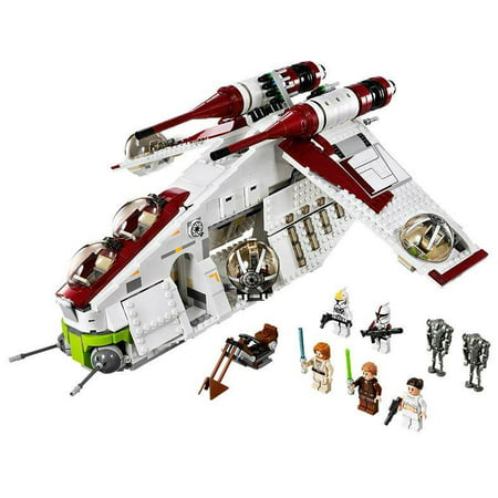 LEGO® Star Wars® Republic Gunship™ Battle of Geonosis Set w/ Minifigures | 75021