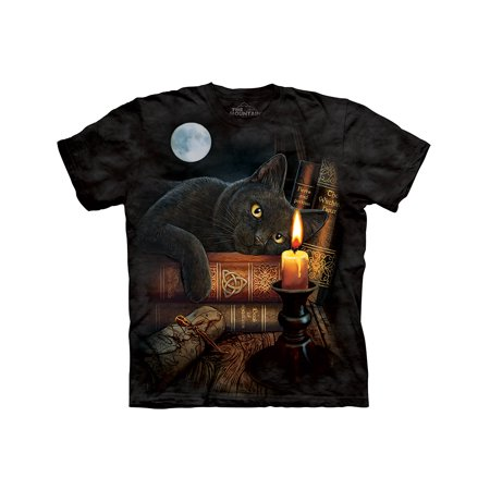 Halloween Black Cat Macabre Witching Hour Potions Tale T-Shirt 3X (In N Out Halloween Hours)